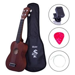 Ukulele soprano ukulele kids ukulele bundle starter guitar kid ukulele with extra new nylon stri ...