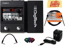 DigiTech Element XP Multi-Effects Pedal Bundle with Power Supply, Instrument Cable, Patch Cable, ...