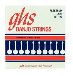 GHS 4-String Plectrum Banjo Stainless Steel 11-26 190