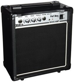 Fat Boy FBGB15 15 Watt Bass Amp
