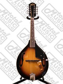 Oscar Schmidt OM10E A-Style Spruce Top Acoustic-Electric Mandolin – Tobacco Sunburst