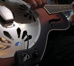 VINTAGE NATIONAL RESONATOR GUITAR PICKUP with FLEXIBLE MICRO-GOOSE NECK by Myers Pickups ~ See i ...