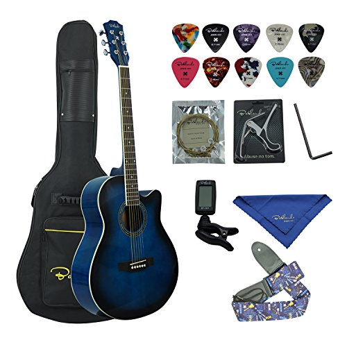 Bailando 40 Inch Cutaway Acoustic Guitar,Blueburst
