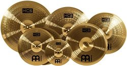 Meinl Cymbals HCS-SCS Super Set Matched Cymbal Box Set Pack with Hi-Hat, Ride, Two Crashes, Chin ...
