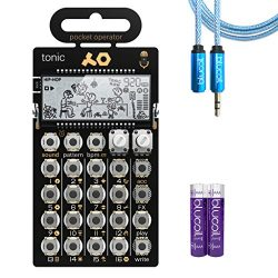 Teenage Engineering PO-32 Tonic Synthesizer Drum Machine –INCLUDES– Blucoil Audio Premium Headph ...
