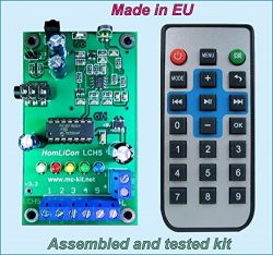 Color Organ, Level Meter, Chaser, Sound Music Light Show, LED Controller PWM 5Channel Remote Control