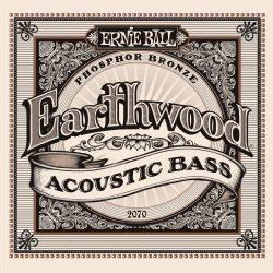 Ernie Ball Earthwood Phosphor Bronze Acoustic Bass Set .045 – .095