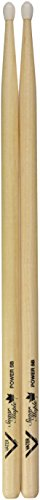 Vater Percussion VSMP5BN Sugar Maple Power 5B Nylon Tip Drumsticks