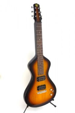 Asher Electro Hawaiian Junior Lap Steel Guitar – Tobacco – with gig bag