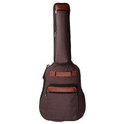 CAHAYA Guitar Bag 41 Inches [Premium Version] Guitar Case Waterproof Oxford Cloth with 0.31 Inch ...