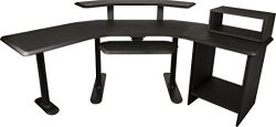 Ultimate Support Nucleus 4 – Studio Desk – Base model, 24″ extension, 12 space ...