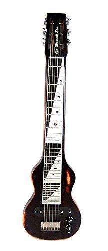 Joe Morrell Pro Relic Series Maple 6-String Lap Steel Guitar Vintage Black USA