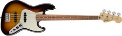 Fender 146203532 Standard Jazz Electric Bass Guitar – Pau Ferro Fingerboard, Brown Sunburst