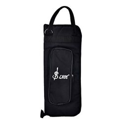 Buytra Drumstick Bag Case Drum Stick Holder Percusssion Drum Mallet Bag with External Pocket and ...