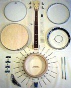 Gold Tone MC-KIT(RES) Kit 5 String Banjo Kit (Resonator)