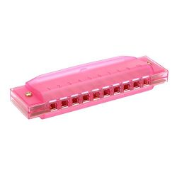 SODIAL(R) Diatonic Harmonica 10 Holes Blues Harp Mouth Organ Key of C Reed Instrument with Case  ...