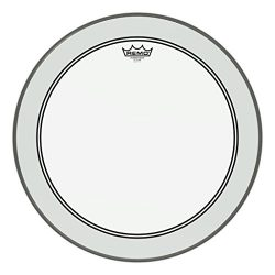 Remo Powerstroke P3 Clear Bass Drumhead, 22″