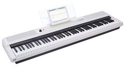 The ONE Smart Keyboard Pro, 88-Key Digital Piano Keyboard, Portable Digital Piano, Weighted Acti ...