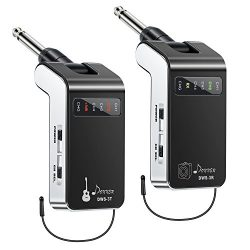 New Version Donner Rechargeable Wireless Guitar System DWS-3 Digital Guitar Bass Audio Transmitt ...