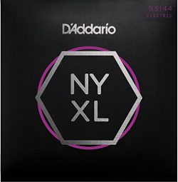 D'Addario NYXL09544 Nickel Wound Electric Guitar Strings, Super Light Plus, 9.5-44