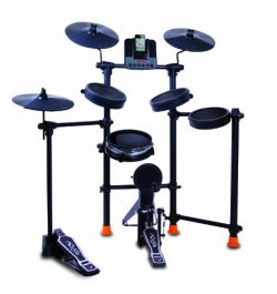 Jammin Pro IROCKER 15-Piece Drum Set