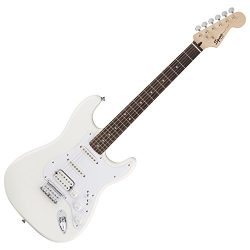Squier by Fender Bullet Stratocaster Electric Guitar – HSS – Hard Tail – Rosew ...