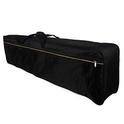 Glarry Portable Electric Piano 88-key Keyboard Case Gig Bag Oxford Cloth (88-key)