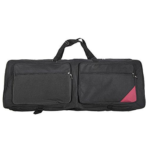 ammoon 73-Key 76-Key Keyboard Electric Piano Organ Gig Bag Soft Case 46.4″ * 16.5″ D ...