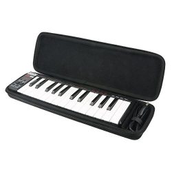 Khanka Hard Case for Akai Professional LPK25 | 25-Key Ultra-Portable USB MIDI Keyboard Controller