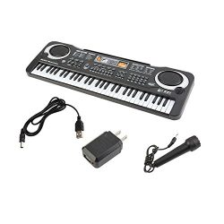 6104 Children Electric Piano 61 Keys Music Electronic Keyboard Kid Electric Piano Organ Perfect  ...