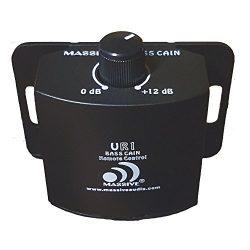 Massive Audio UR1 Amplifier Gain Control Knob. Adjustable Gain Amplifier Remote Level Controller ...