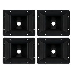 Goldwood Sound Inc. Sound Module, Heavy Duty ABS Directivity Horns Molded Horn Lenses 4 Piece Pa ...