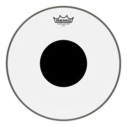 Remo Controlled Sound Clear Drum Head with Black Dot – 14 Inch