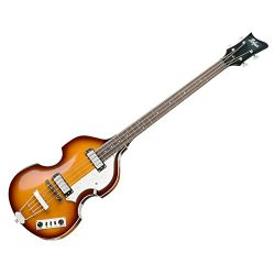 Hofner IGNITIONSB Electric Violin Bass Guitar – Rosewood Fingerboard, Sunburst Finish