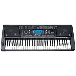 Audster FK-6100, 61-Key Professional Performance MIDI Keyboard Electronic Piano with LED Display