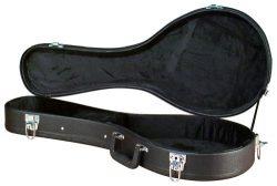 Carrion C-3701 Black Hardshell A-Model Mandolin Case