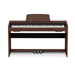 Casio PX770 BN Privia Digital Home Piano, Brown