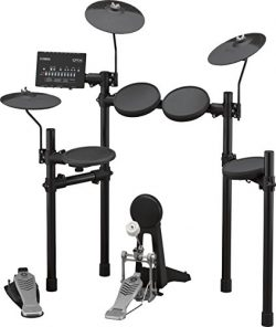 Yamaha DTX452K Customizable Electronic Drum Kit with 3-Zone Snare Pad, KP65 Kick Tower and Bass  ...