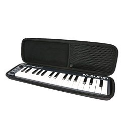 Hard Case For M-Audio Keystation Mini 32 II Ultra-Portable 32-Key USB MIDI Keyboard Controller b ...