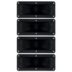 Goldwood Sound, Inc. Sound Module, Piezo Horn Tweeters 90 Watts Each 4 Piece Pack Replacements f ...