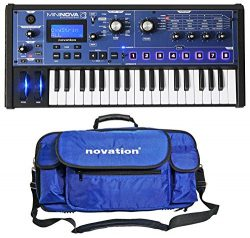 Novation MiniNova 37-Key Compact USB MIDI Keyboard Synthesizer + Carry Case