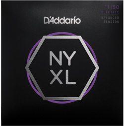 D'Addario NYXL1150BT Nickel Wound Electric Guitar Strings, Balanced Tension Medium