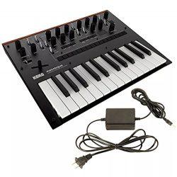 Korg Monologue Monophonic Analogue Synthesizer Black w/FREE Power Supply
