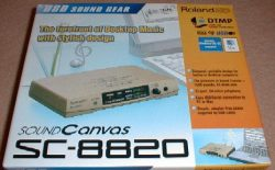 Roland Sound Canvas SC-8820