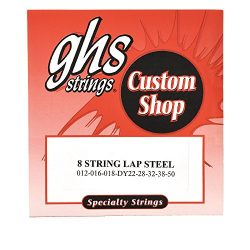 GHS Electric Lap Steel Strings 8-String 12-50