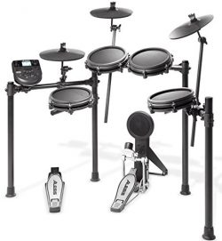 Alesis Drums Nitro Mesh Kit | Eight Piece All-Mesh Electronic Drum Kit With Super-Solid Aluminum ...