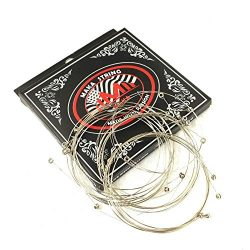 20-Pack Single Electric Guitar Strings Bulk .011 High E (Medium) 11 Gauge, Individual Package