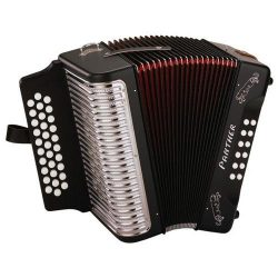 Hohner Panther Tex Mex GCF Accordion