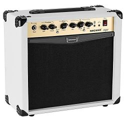 Neewer 20-Watt Electric Guitar Combo Amplifier with 3-Band EQ, 2 Channels, Ideal for Music and G ...