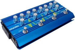 Pyle-Pro PPDLA1 Super Guitar Multi-Effect Pedal With Overdrive, Distortion, Chorus, And Digital  ...